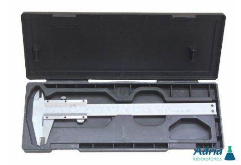Paquímetro Digital Em Aço Inox 150 Mm 6´ Com Estojo