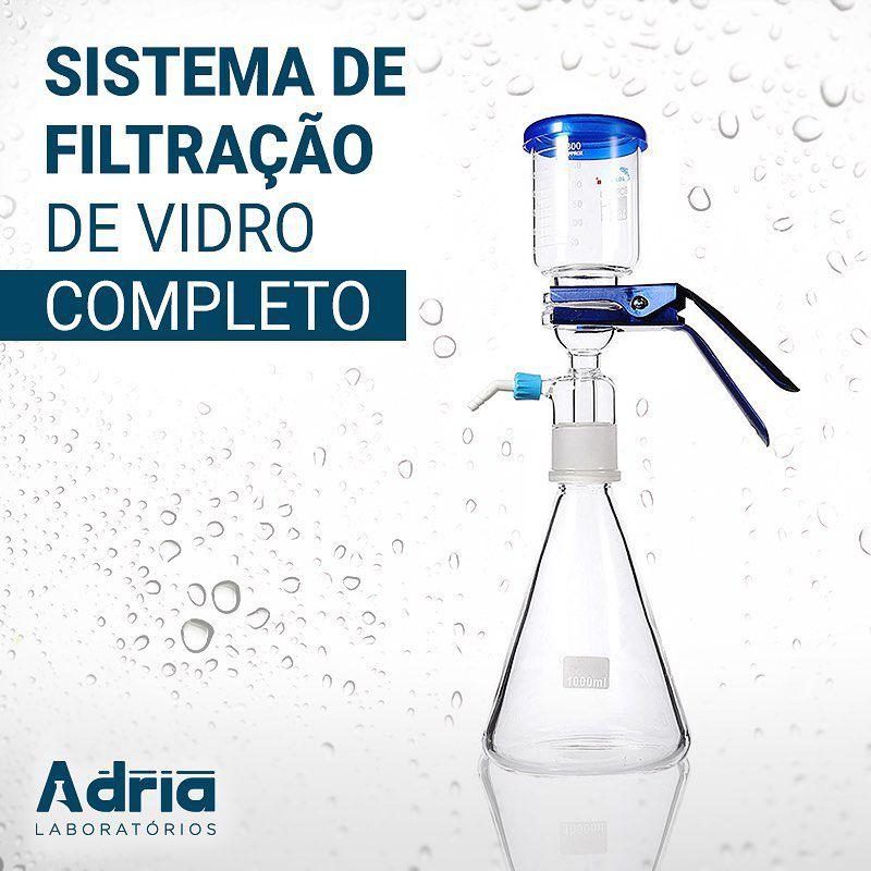 Sistema de Filtração de Vidro Completo