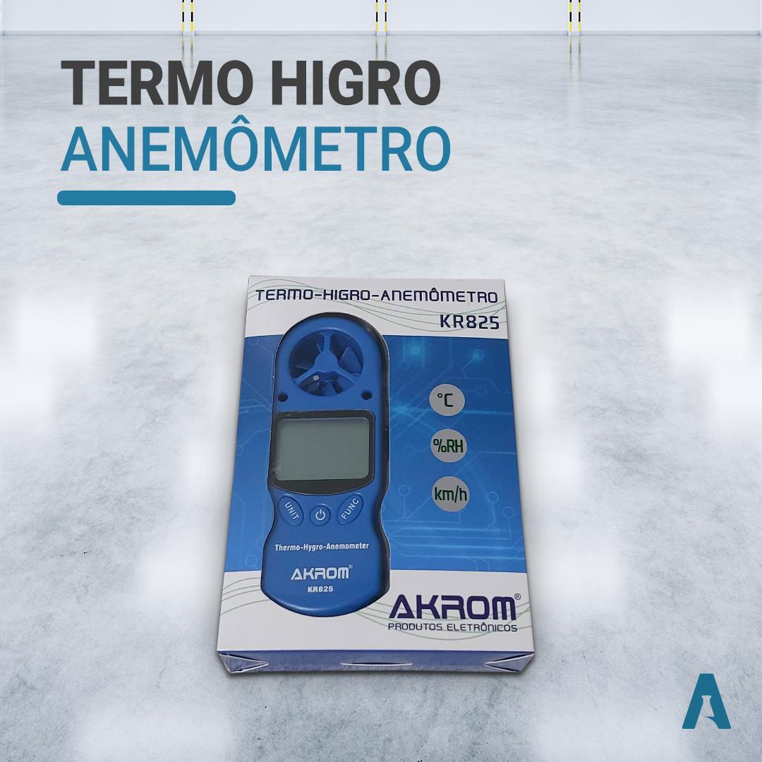 Termo Higro Anemômetro - Akrom