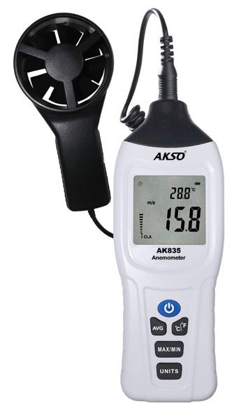 Termoanemômetro Digital com Sensor Externo - AK835