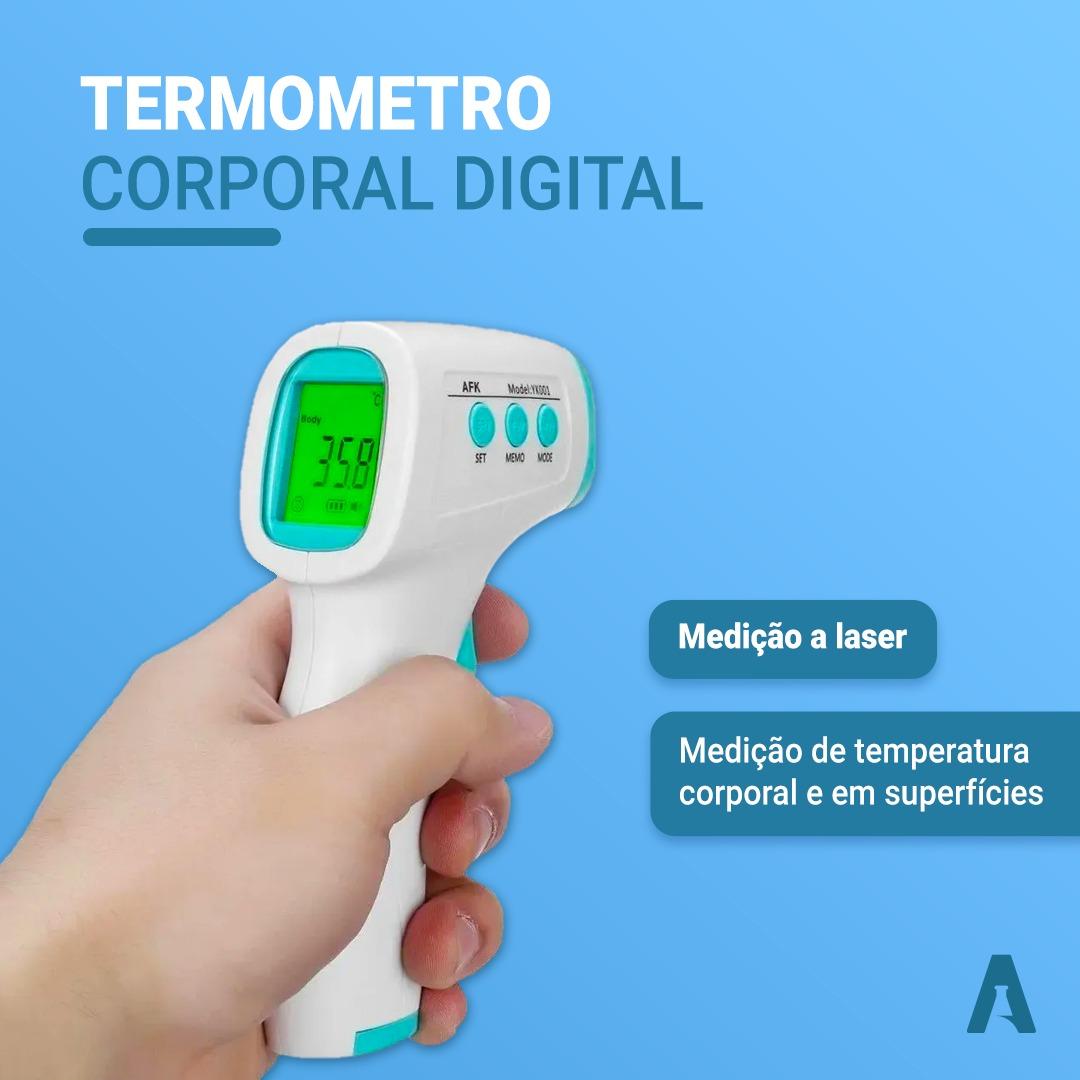Termômetro Corporal Sem Contato a laser