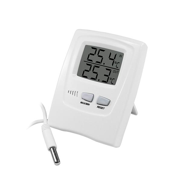 Termômetro Digital Max e Min com Sensor - ref 7665