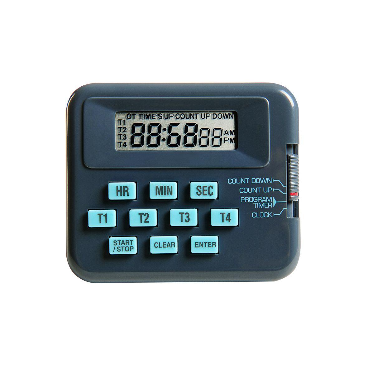 Timer Digital de Mesa 4 Canais REF K30-004