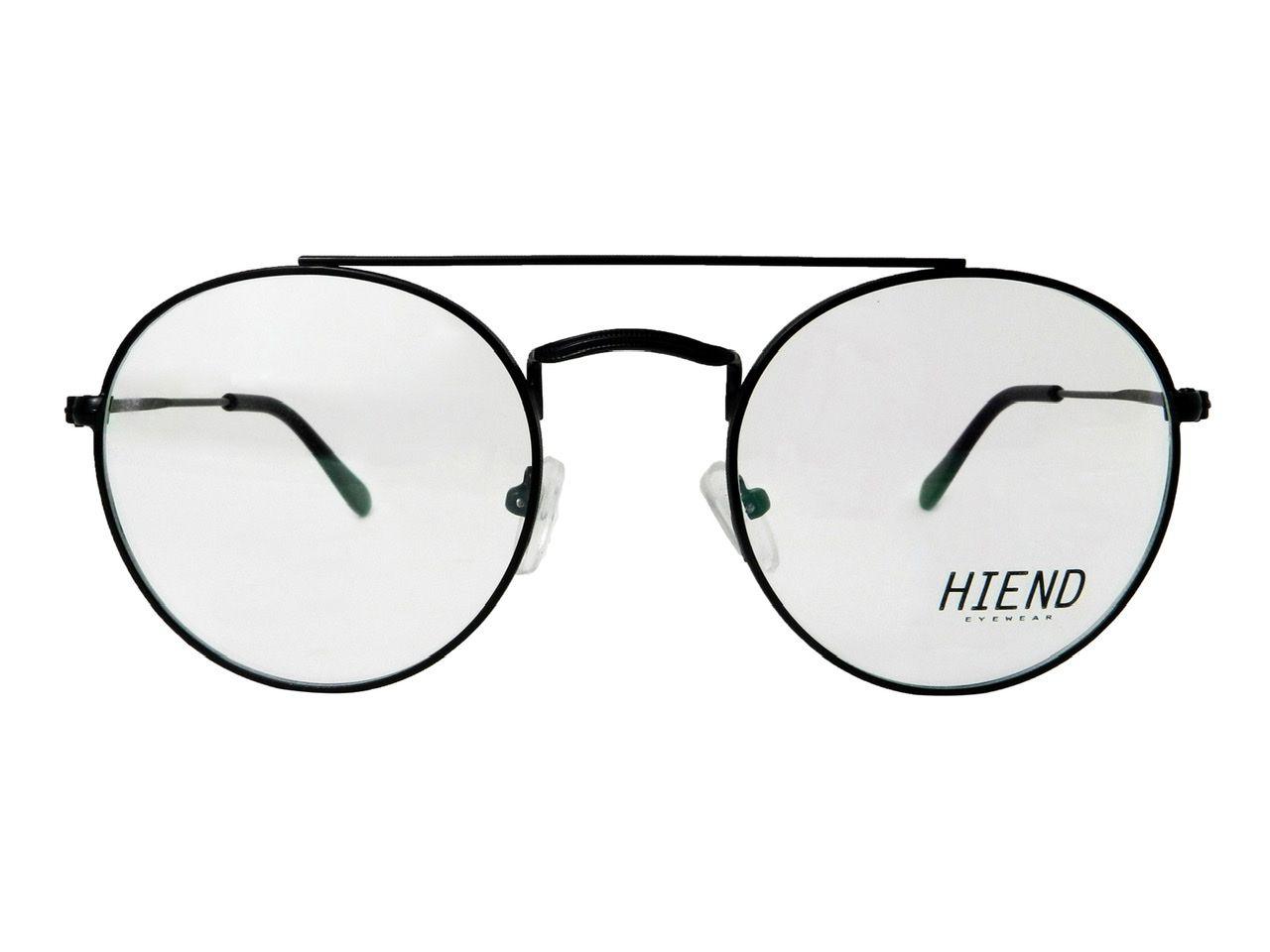 Óculos de Grau Hiend Round Double Bridge