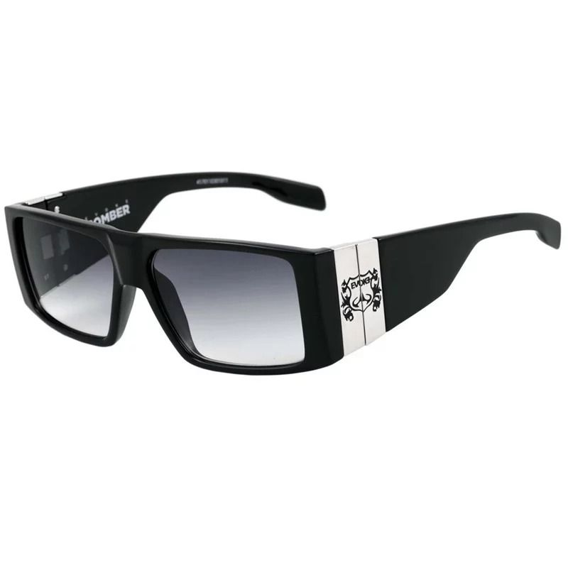 Óculos de Sol Evoke Bomber Black Shine