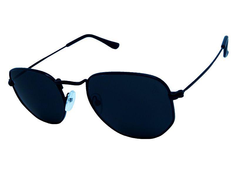 Óculos de Sol Hiend Hexagonal All Black