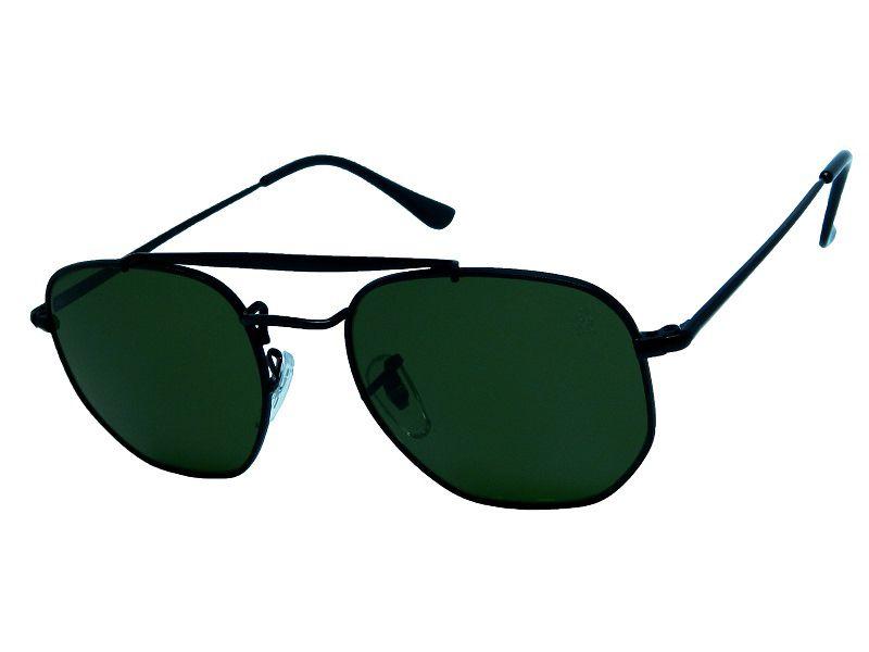 Óculos de Sol Hiend Hexagonal Double Bridge
