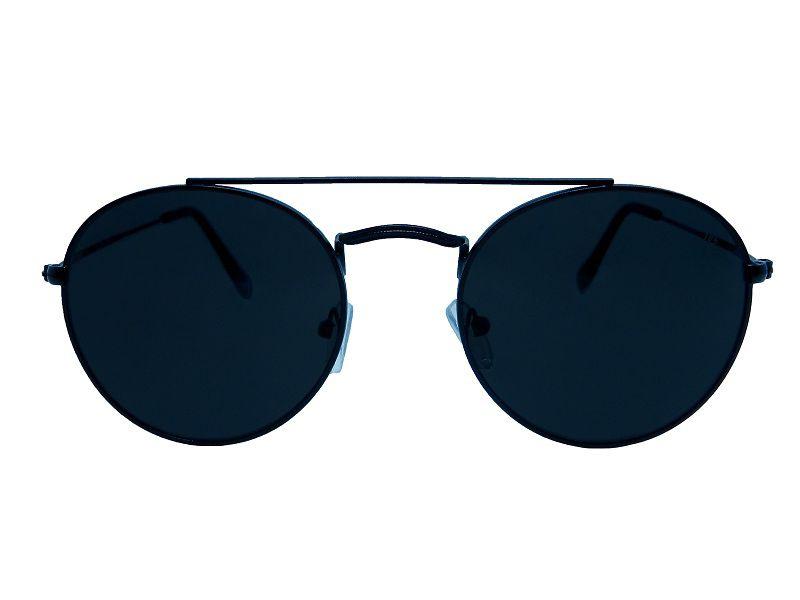 Óculos de Sol Hiend Round Double Bridge Dark