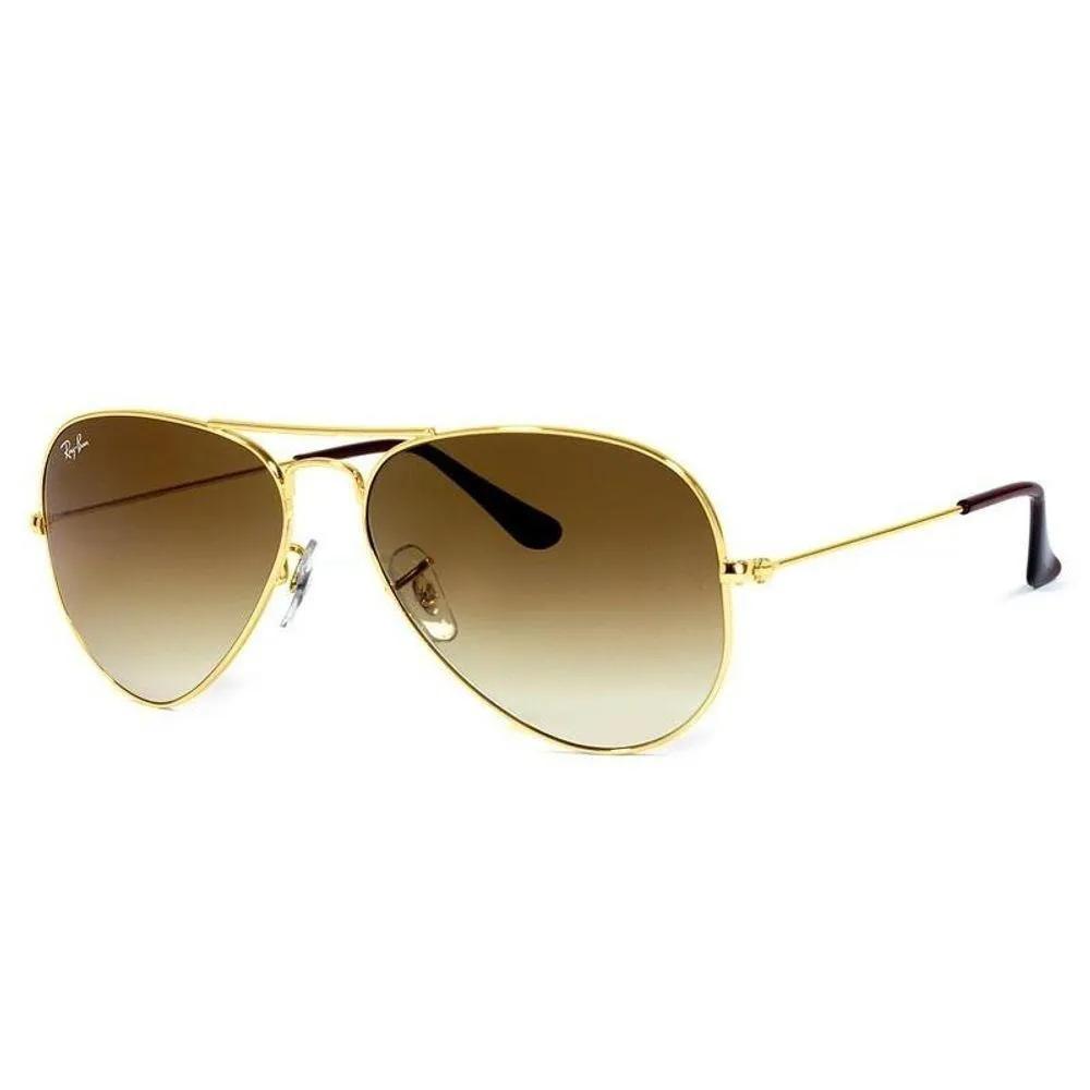 Óculos de Sol Ray Ban Aviador RB3025 001/51 58-14