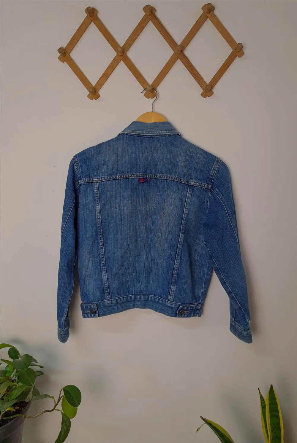 JAQUETA CROPPED JEANS PP