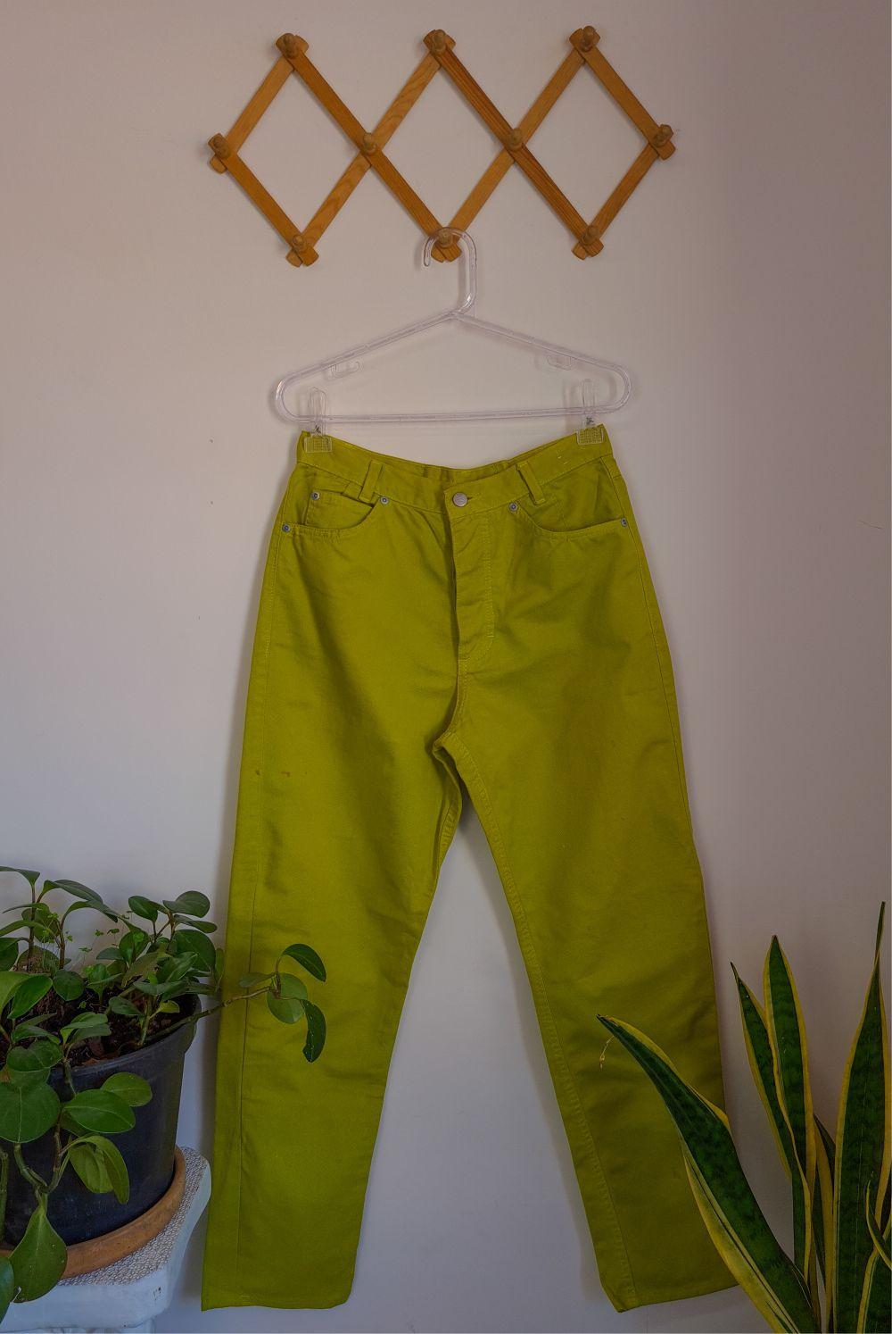MOM JEANS VERDE