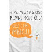 Camiseta - Coelhinho Libertário - Monopólios