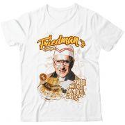 Camiseta  - Friedman's Burger - Não Existe Almoço Grátis