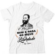 Camiseta - Luís Gama - Pão é a Liberdade