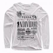 Camiseta Manga Longa - Ayn Rand - Minorias