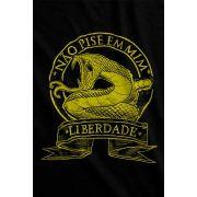 Camiseta  - Não pise em mim - Liberdade