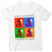 Camiseta - Rothbard - Pop Art