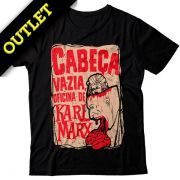 OUTLET - Camiseta Cabeça Vazia, Oficina de Karl Marx