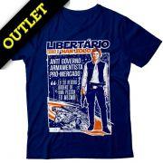 OUTLET - Camiseta Han Solo Libertário