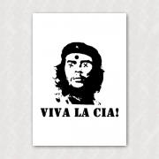 Placa - Anti-Che Guevara - Viva la CIA!