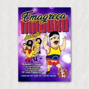 Placa - Emagreça Com Maduro