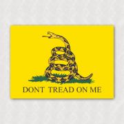 Placa - Gadsden Flag (Dont tread on me)