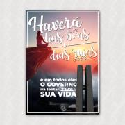 Placa - Haverá Dias Bons e Ruins