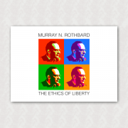 Placa - Rothbard - Pop Art