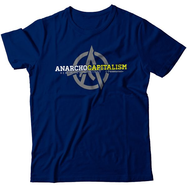 Camiseta - Anarchocapitalism