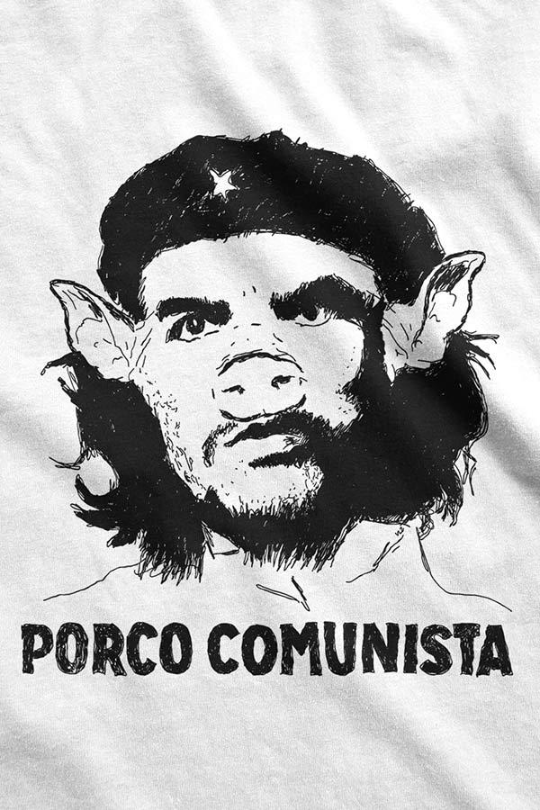 Camiseta - Anti-Che Guevara - Porco Comunista