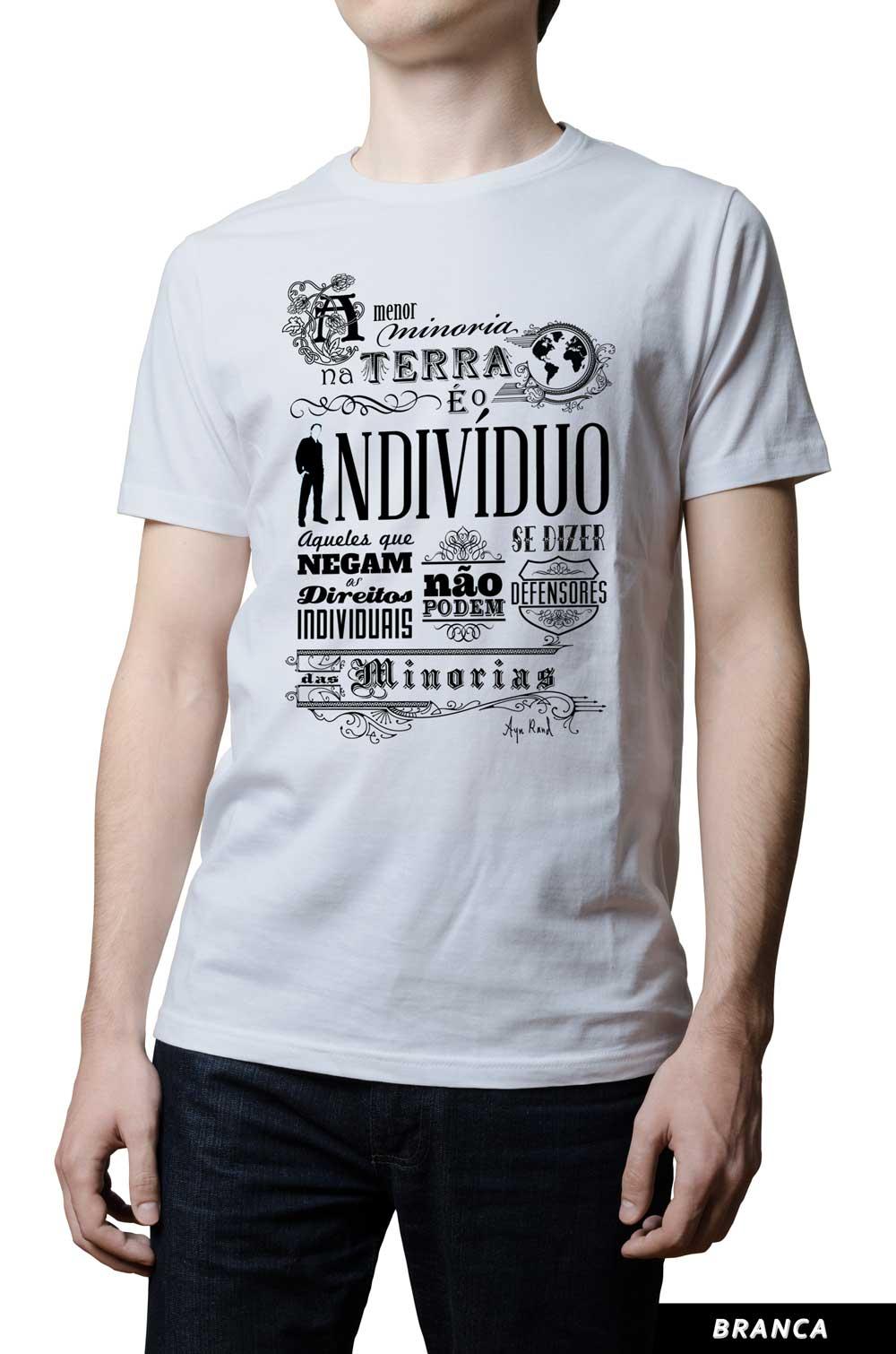 Camiseta - Ayn Rand - Minorias
