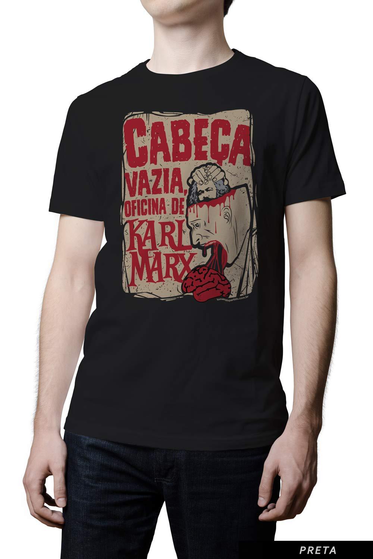 Camiseta  - Cabeça vazia, oficina de Karl Marx