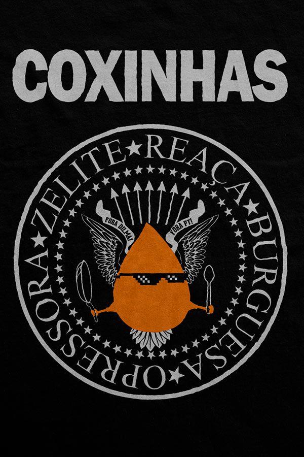 Camiseta - Coxinhas