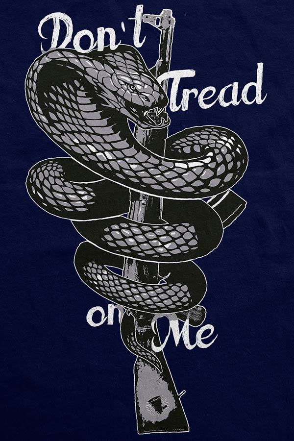 Camiseta - Dont Tread On Me - Fuzil