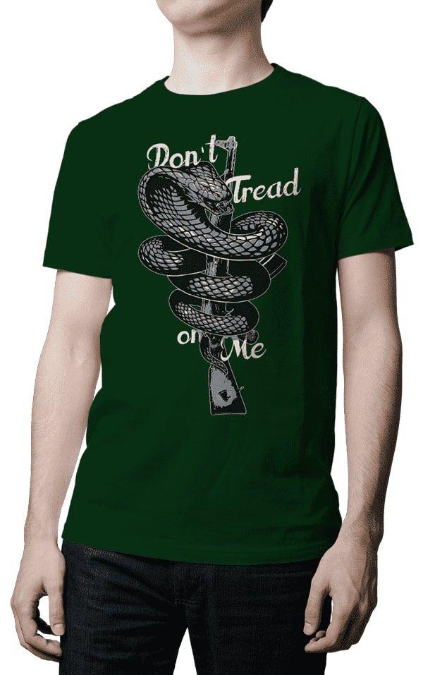Camiseta - Dont Tread On Me - Fuzil