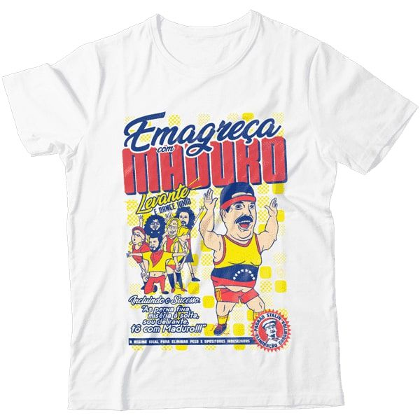 Camiseta - Emagreça Com Maduro