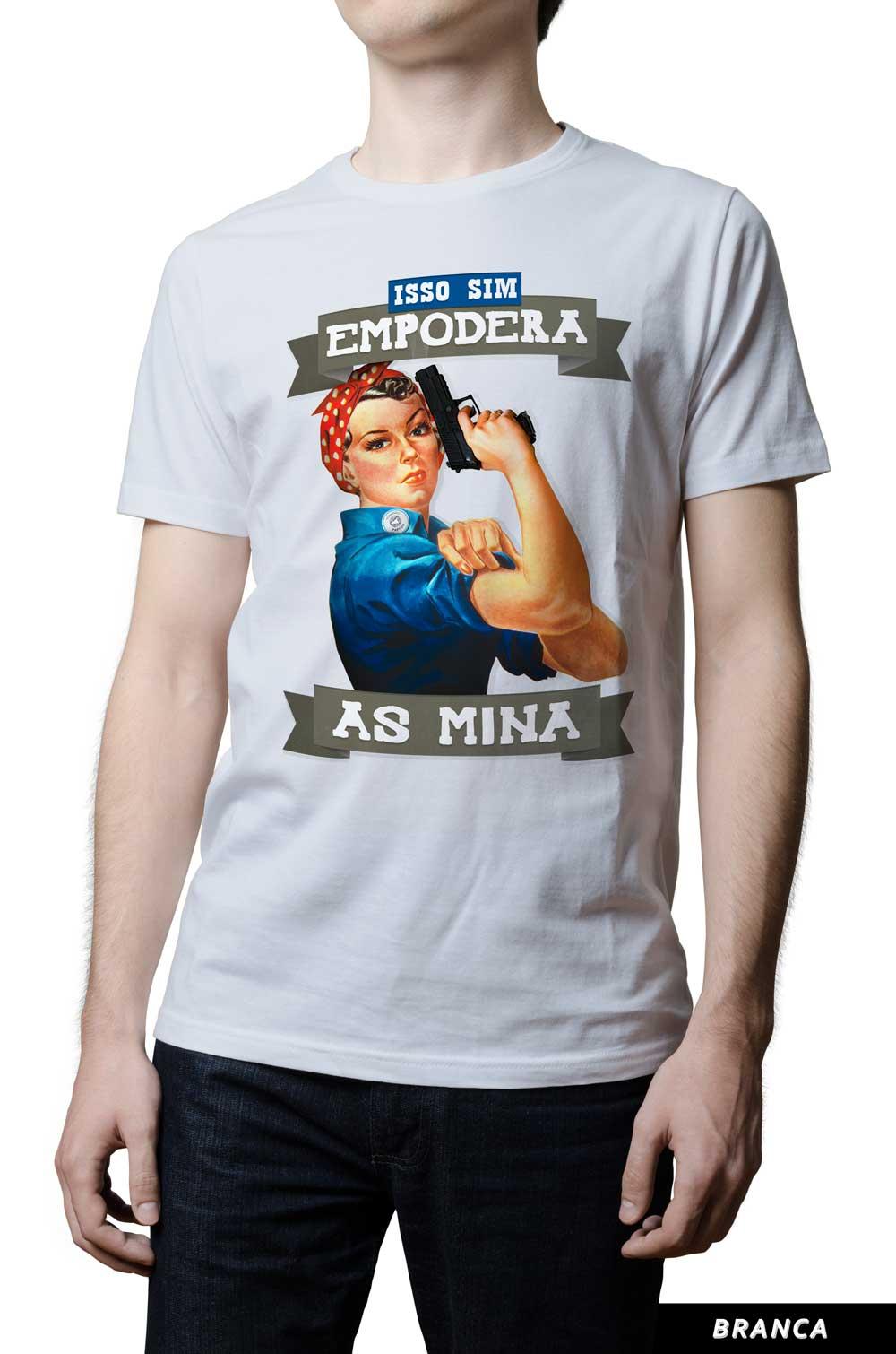 Camiseta - Empodera as Mina