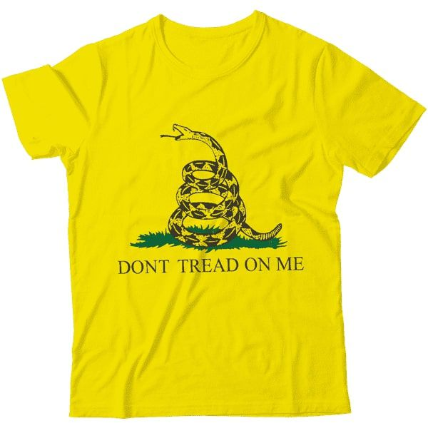 Camiseta - Gadsden Flag (Dont tread on me)
