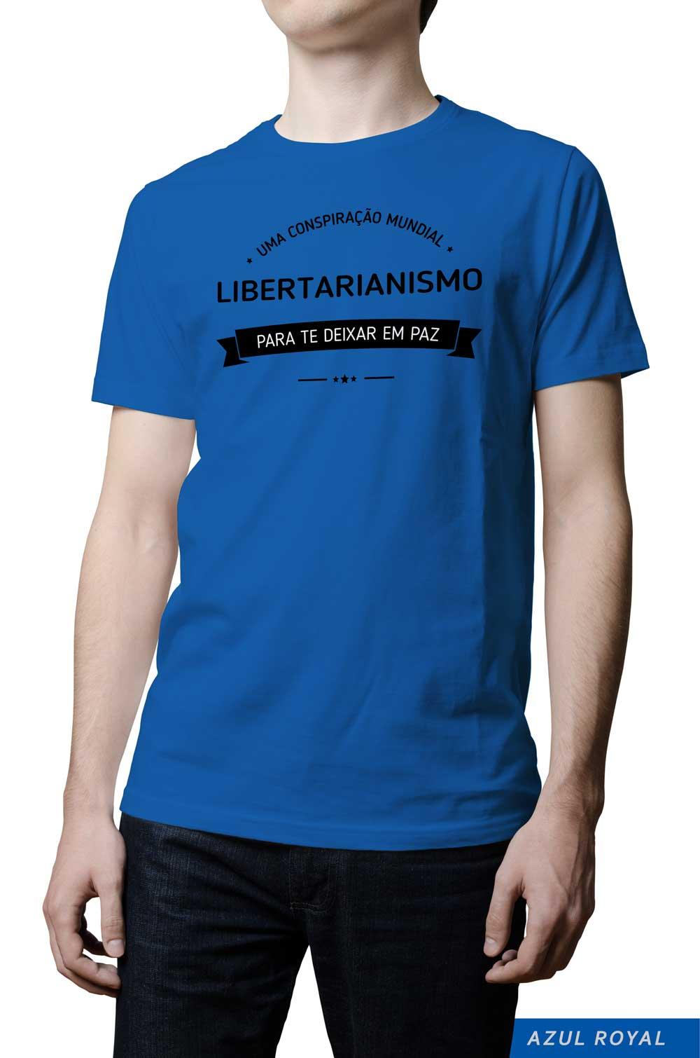 Camiseta - Libertários - Conspiração