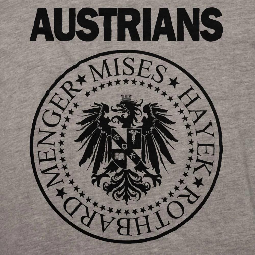 Camiseta Manga Longa - Austrians (Escola Austríaca)