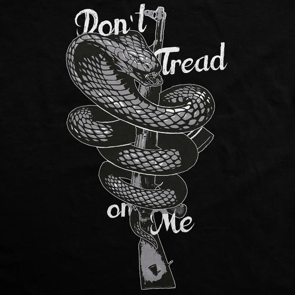 Camiseta Manga Longa - Don't Tread On Me - Fuzil