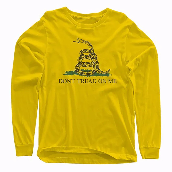 Camiseta Manga Longa - Gadsden Flag  (Don't Tread On Me)