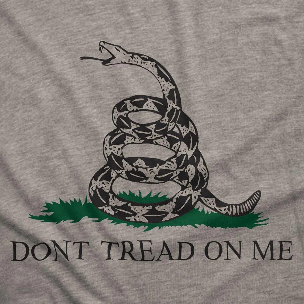Camiseta Manga Longa - Gadsden Flag  (Don't Tread On Me)
