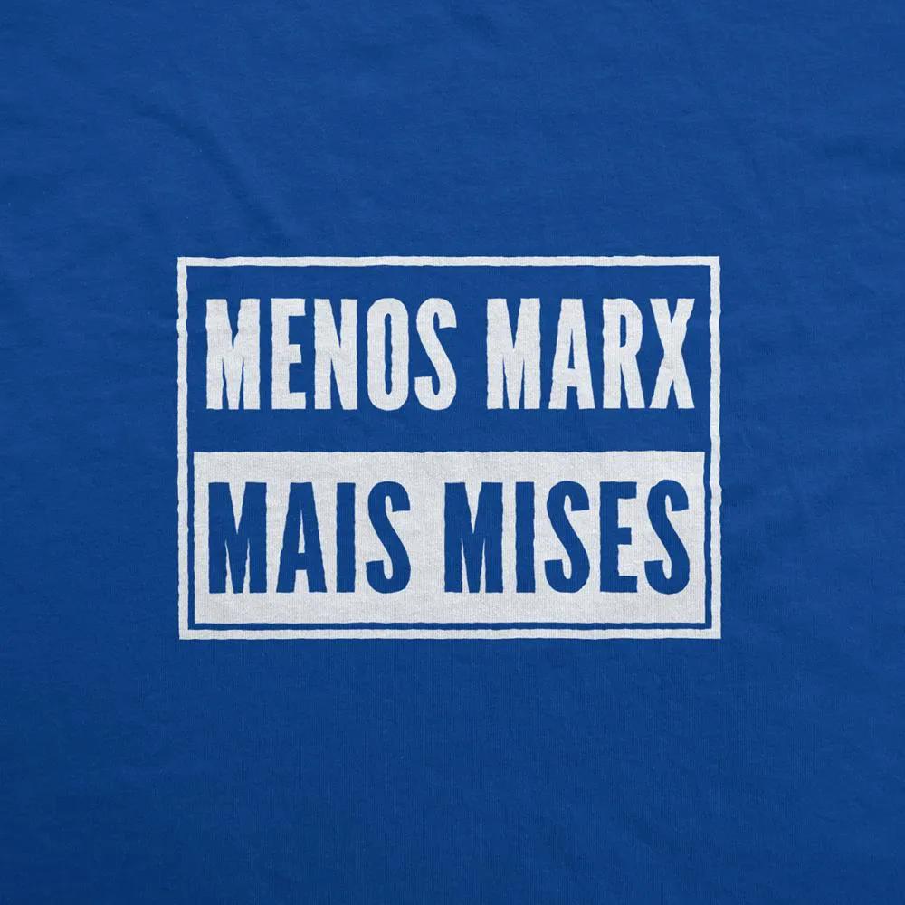 Camiseta Manga Longa - Menos Marx Mais Mises