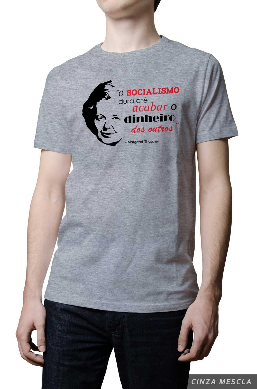 Camiseta - Margaret Thatcher - Socialismo