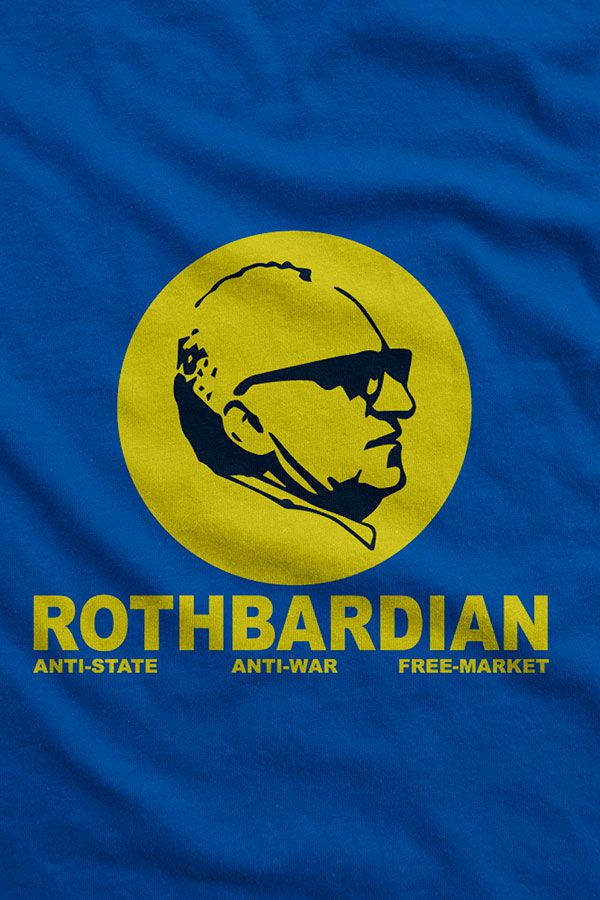 Camiseta - Murray Rothbard - Rothbardian