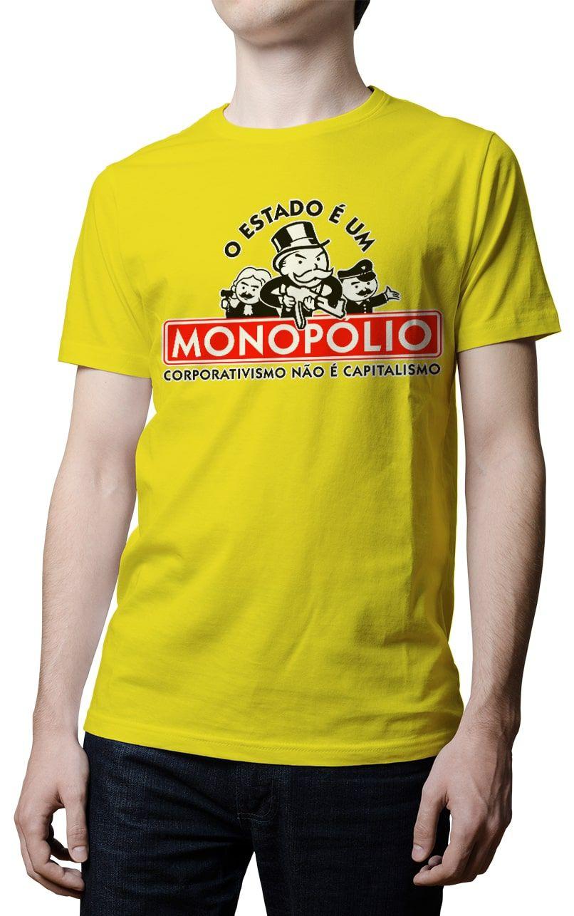 Camiseta  - O Estado é um Monopólio