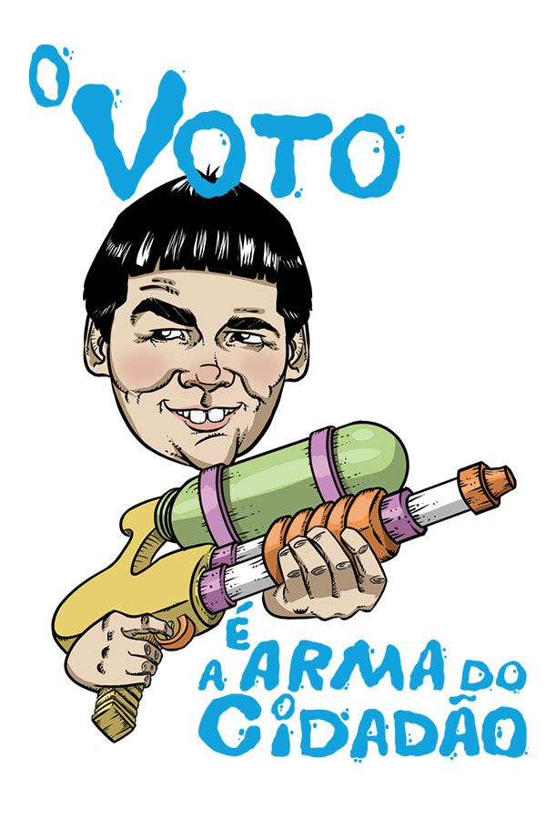 Camiseta - O Voto é arma do cidadão