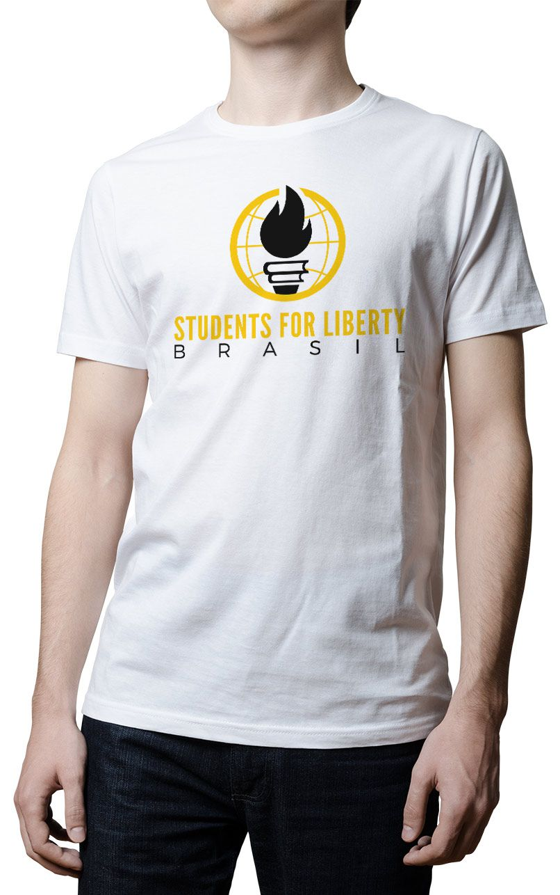 Camiseta SFLBR - Students For Liberty Brasil