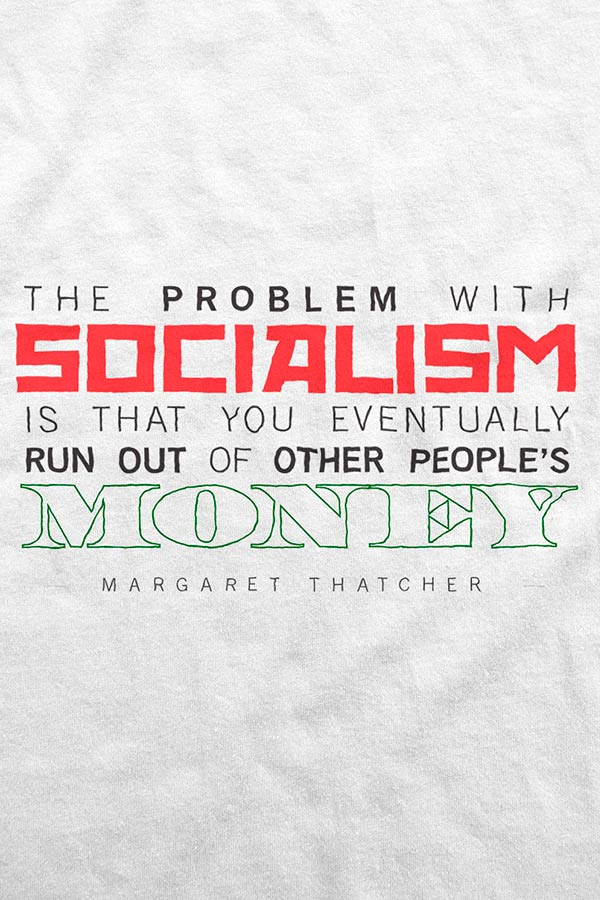 Camiseta - The Problem with Socialism